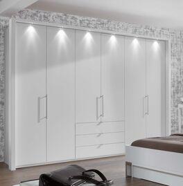 Funktions-Kleiderschrank Salford in Weiß