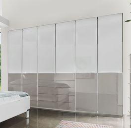 Funktions-Kleiderschrank Shanvalley mit attraktiver Glasfront