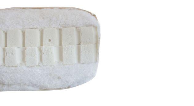 Querschnitt des Doppel-Latexs Kerns der Futonmatratze