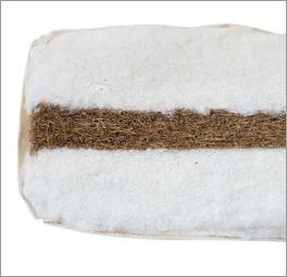Futonmatratze Kokos mit guter Stützkraft