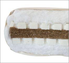 Futonmatratze Latex-Kokos für Rückenschläfer und Bauchschläfer