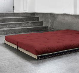 Futonsofa Borbona als Schlafmöglichkeit für Gäste