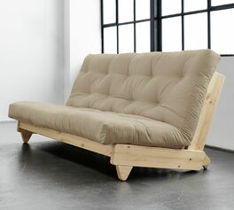 Futonsofa Cirata mit innovativer Optik