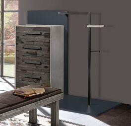 Garderoben-Kommode Envigado mit Metall-Kleiderstange