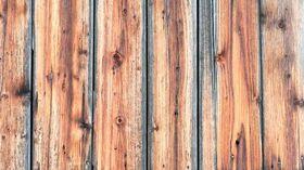 gebeiztes Holz