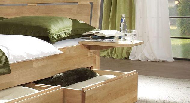 nachttisch h ngend aus massivholz andalucia. Black Bedroom Furniture Sets. Home Design Ideas