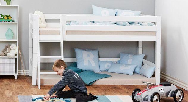 Halbhohes Bett Kids Royalty inklusive Lattenrost