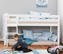 Halbhohes Bett Kids Royalty umbaubar zum Jugendbett