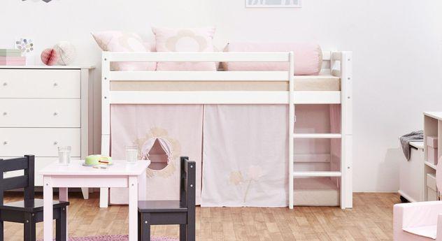 Halbhohes Bett Prinzessin in der kleinen Variante