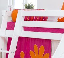 Fest verschraubtes halbhohes Rutschen-Bett Kids Royalty