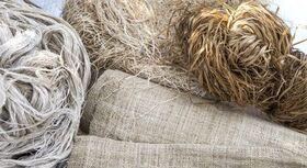Hanf Fasern und Textilien