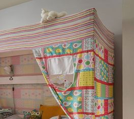 Himmelbett Kids Dreams inklusive Baldachin mit Fenster