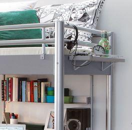 metall hochbett f r studenten in zwei breiten jan. Black Bedroom Furniture Sets. Home Design Ideas