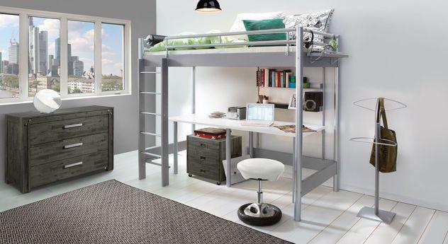 Hochbett Jan für Studentenzimmer geeignet