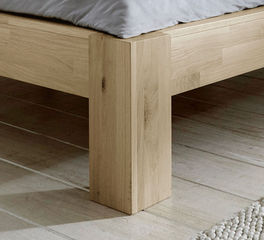 Bett Nino mit Füßen in Komfort-Höhe