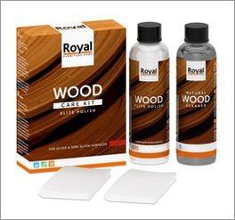 Holzpflegeset für lackierte Oberflächen mit Gesamtinhalt von 500 ml