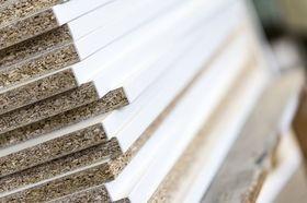 Holzwerkstoffe Spanplatten beschichtet Schnittkanten