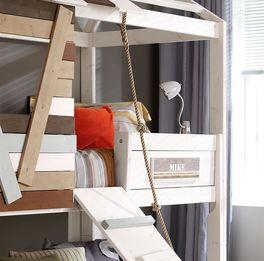 Abenteuer-Hütten-Hochbett Survival von LIFETIME inklusive Seil