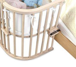 Beistellbett BabyBay Maxi aus Buche ist sehr stabil