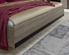 Bett Korba mit verstecktem Schwebefuß
