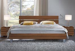 Das Designerbett Treviso ist in 140x200cm erhältlich