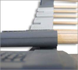 orthowell ultraflex Lattenrost mit Kautschuk-Kappen
