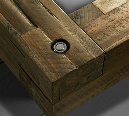 Massivholzrahmen mit hochwertigen Schraubverbindungen