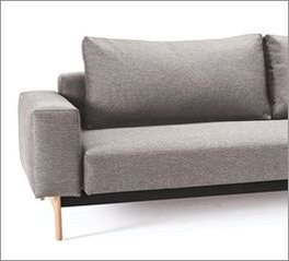 Gepolstertes Schlafsofa Derby in modernem Design