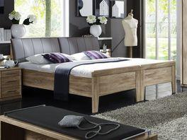 Doppelbett aus zwei Einzelbetten durch den Verbindungsbeschlag Runcorn