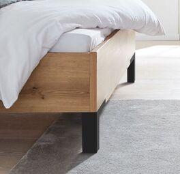 INTERLIVING Bett 1205 mit stylischen Bettbeinen