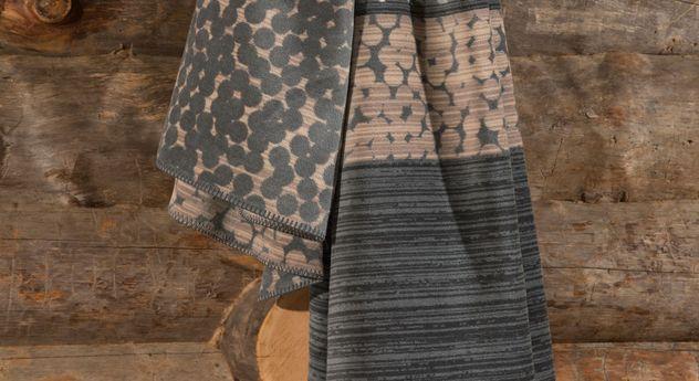 Jacquard-Decke Huntsman mit kuscheliger Oberfläche