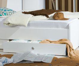 Jugendbett Armilla im geradlinigen Design