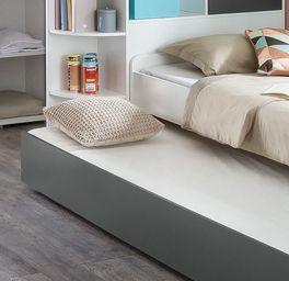 Jugendbett Facundo mit Bettschublade für Gäste
