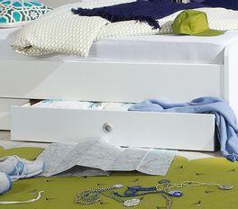 Jugendbett Los Pinos mit praktischer Bettschublade