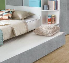 Jugendbett Porvenir mit zusätzlicher Schlafmöglichkeit
