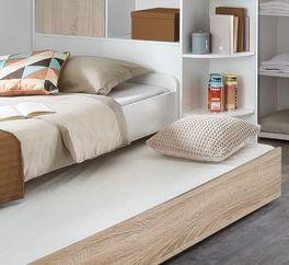 Jugendbett Solero mit praktischer Bettschublade
