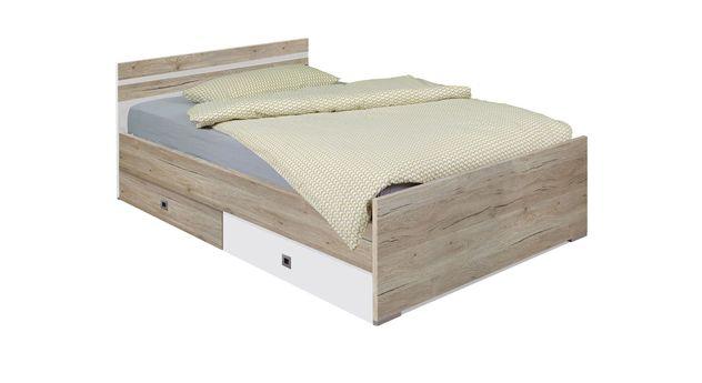 Praktisches Jugendbett Tropea optional mit Schubkasten
