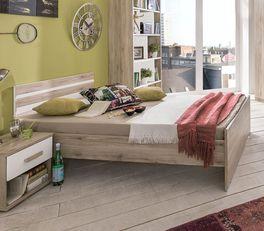 Preiswertes Jugendbett Tropea in modernem Look