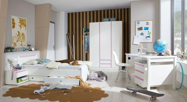 Modernes Jugendzimmer Armilla in weißem Dekor