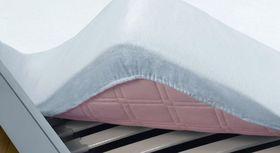 Kalmuck-Einsatz als Matratzenschutz-Spannbettlaken