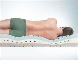 Bequem liegen mit der Kaltschaummatratze youSleep 900