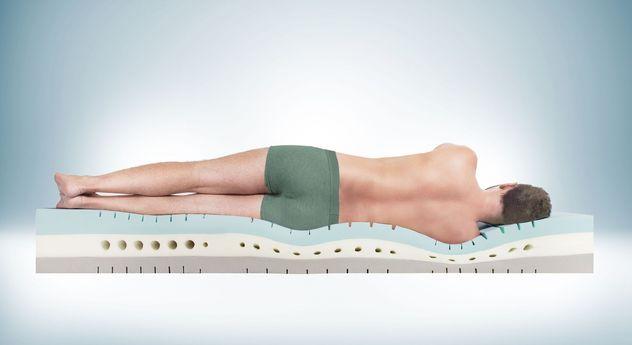 Kaltschaummatratze youSleep 900 mit optimaler Anpassung