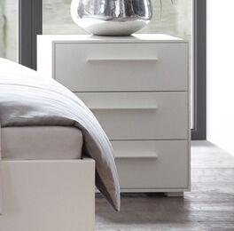 Klassischer Nachttisch Cilona Komfort aus Buchenholz