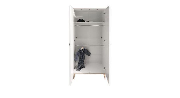 Inneneinteilung des zweitürigen Kleiderschranks Beano