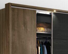 Kleiderschrank Gallinaro wahlweise mit LED-Beleuchtung