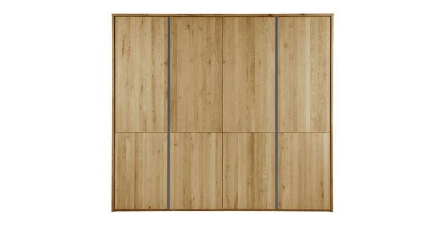 Moderner Holz-Kleiderschrank Nidau mit Drehtüren