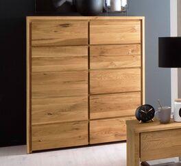 Kombi-Kommode Listra für Stauraum im Schlafzimmer