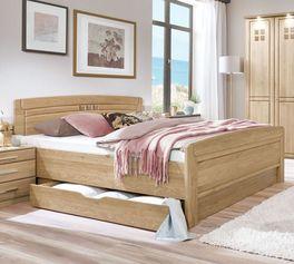 Klassisches und hochwertiges Komfort-Doppelbett Bloomfield