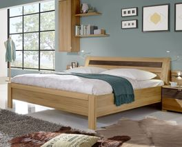 Komfort-Doppelbett Burbia inklusive Mittelholm