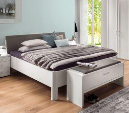 Seniorengerechtes Komfort-Doppelbett Castelli in Komforthöhe
